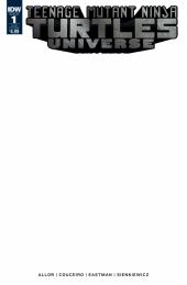 Teenage Mutant Ninja Turtles: Universe #1 Blank Sketch Cover