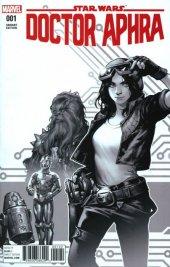 Star Wars: Doctor Aphra #1 Kamome Shirahama Black & White Retailer Bonus Variant