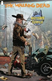 The Walking Dead #1 15th Anniversary Midtown Comics Exclusive Variant