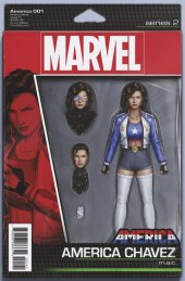 America #1 Christopher Action Figure Variant