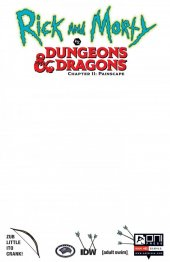 Rick and Morty vs. Dungeons & Dragons II: Painscape #1 Cover E 1:15 Incentive