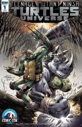 Teenage Mutant Ninja Turtles: Universe #1 Colorado Springs Comic Con Exclusive Variant Cover