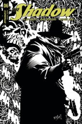 The Shadow #6 Cover G 1:40  Jones B&w Cover