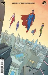 Legion of Super-Heroes #9 Variant Cover