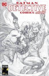 Detective Comics #1000 Torpedo Comics Exclusive Jim Lee Variant Cover Batman & Joker Black & White