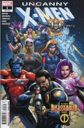 Uncanny X-Men #1 Walmart Variant (White Title)