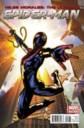 Miles Morales: The Ultimate Spider-Man #1 Peterson Variant