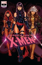 Uncanny X-Men #1 ComicSketchArt Exclusive Mark Brooks Variant A