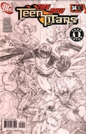 Teen Titans #34 2nd Printing