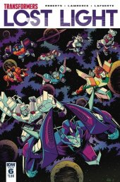 Transformers: Lost Light #6 SUB-A Cover