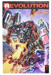 Transformers: Revolution #1 New York Comic Comic Exclusive Variant Cover