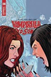 Vampirella / Red Sonja #8 Cover E Moss
