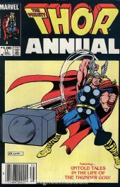 The Mighty Thor Annual #11 Newsstand Edition
