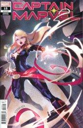 Captain Marvel #15 Zili Yu Chinese New Year Variant