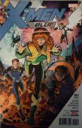 X-Men: Blue #1 Wal-Mart Variant