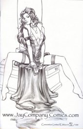 Tales From Wonderland: Queen of Hearts Jay Company Sketch