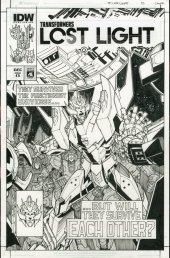 Transformers: Lost Light #13 Cover C (Artist Edition - Alex Milne)