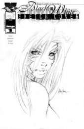 Witchblade #1 Dynamic Forces Black & White One Shot