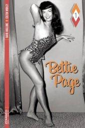 Bettie Page #1 Cover E B&w Photo