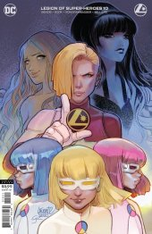 Legion of Super-Heroes #10 Variant Cover