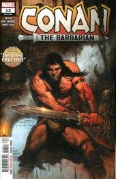 Conan the Barbarian #13 Original Cover