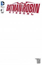 Batman & Robin Eternal #1 Blank Variant