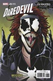 Daredevil #26 Venomized Variant