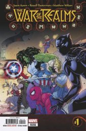 War of the Realms #1 2nd Printing