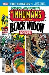 True Believers: Black Widow - Amazing Adventures #1