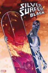 Silver Surfer: Black #5 1:500 Cian Tormey Foreshadow Variant