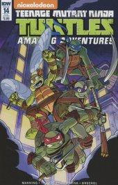 Teenage Mutant Ninja Turtles: Amazing Adventures #14 Subscription Variant