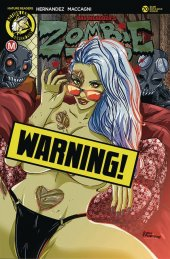 Zombie Tramp #70 Cover D Rudetoons Reynolds Risque