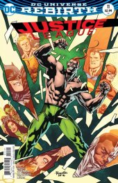 Justice League #11 Variant Edition