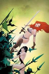 Vampirella / Red Sonja #11 Lee Virgin Cover