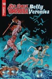 Red Sonja & Vampirella Meet Betty & Veronica #10 1:5 Gedeon Zombie Cover