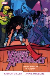 Young Avengers By Gillen and Mckelvie Omnibus HC Direct Market Edition