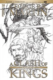 A Game of Thrones: Clash of Kings #10 Cover D 1:15 Rubi B&w Cover