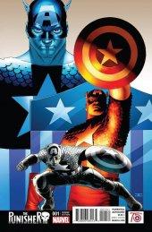 The Punisher #1 Cassaday Captain America 75th Anniversary Variant