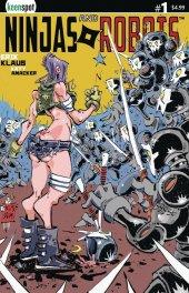 Ninjas & Robots #1 Original Cover