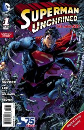 Superman Unchained #1 Combo Pack