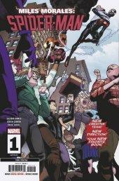 Miles Morales: Spider-Man #1 3rd Printing Garron Variant