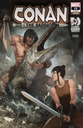 Conan the Barbarian #15 1:25 Incentive Skan Variant