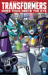The Transformers: More than Meets the Eye #54 10 Copy Incentive Variant