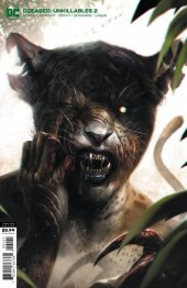 DCeased: Unkillables #2 Card Stock Variant Edition