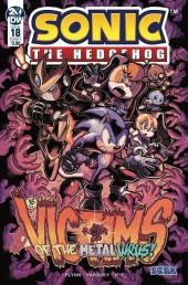 Sonic the Hedgehog #18 Original Cover