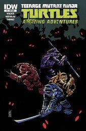 Teenage Mutant Ninja Turtles: Amazing Adventures #1 Subscription Variant