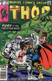 The Mighty Thor #288 Newsstand Edition