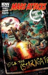 Mars Attacks: Zombies vs. Robots #1 Original Cover