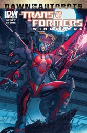 The Transformers: Windblade #3 Subscription Variant