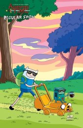 Adventure Time / Regular Show #2 Subscription Morrison Variant
